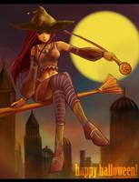 Titania's Halloween by Jatearica