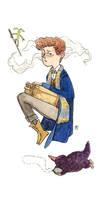 Newt Scamander by ACRknowyou