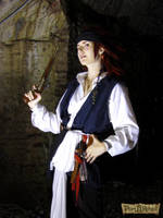 KH : Captain Axel , Pirate cosplay by MischAxel