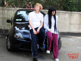 Yamato Nadeshiko Shichi Henge : Kyohei and Sunako by MischAxel