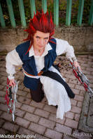 Axel Pirate ofThe Caribbean Kingdom Hearts cosplay by MischAxel