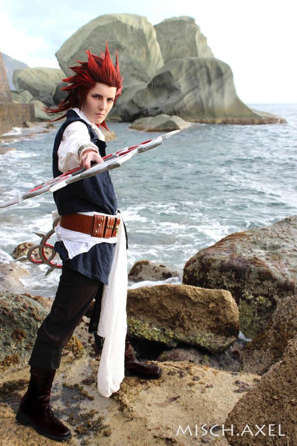 Axel cosplay Kingdom Hearts -makeup video tutorial by MischAxel