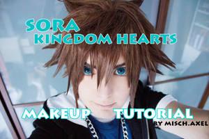 SORA - kingdom hearts - makeup tutorial [video] by MischAxel