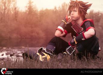 Sora Kingdom Hearts 3 by MischAxel