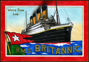 R.M.S. Britannic Poster by Scottvisnjic