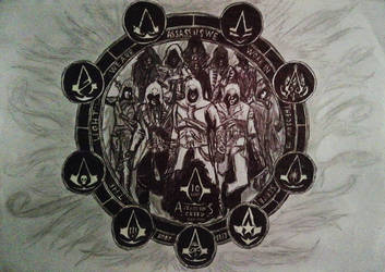 Assassin's Creed 10 Years by BI-T
