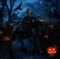 Halloween Night by valeskamoura