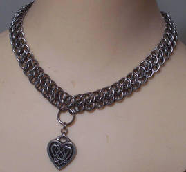 Chain maille GSG necklace by hwkwlf
