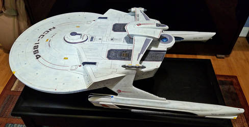 Reliant NCC 1864 1/350 conversion #3 by billking