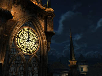 clock tower 2 by indigodeep