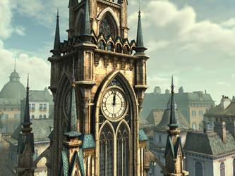 clock tower 5 by indigodeep