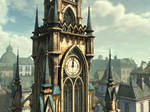 clock tower 5 by indigodeep