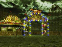 Circus background by indigodeep