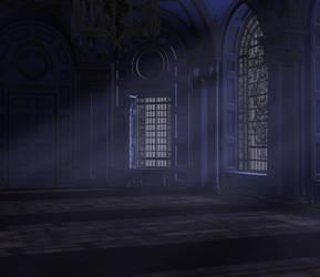 Baroque ballroom by indigodeep