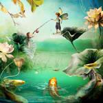 Fish n Flies by indigodeep
