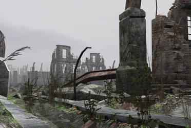City ruins 1 by indigodeep