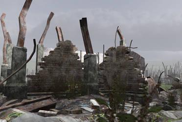 City ruins 6 by indigodeep