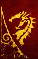 Black Dragon Flag by SkullSmithy