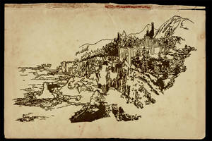 Elder Scrolls: Geon Ashsmith - Bruma Sketch by SkullSmithy