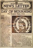 Elder Scrolls: Black Horse Newsletter 2a141 by SkullSmithy