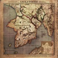 Current Work - Digital: Faol's Tooth Map by SkullSmithy