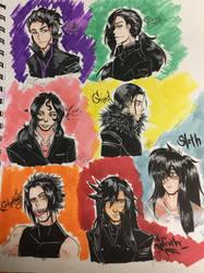 Seven Deadly Sins (myPersonas) by crazycake250