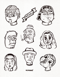 Heads by 1upNimrod
