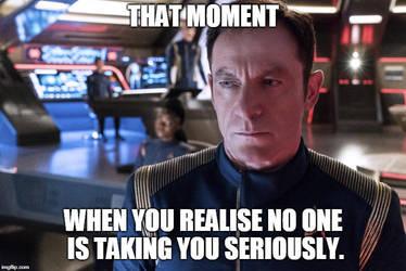 Captain Lorca Meme 1 by AgentSandraCartrip