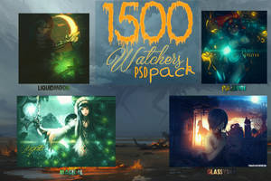 1500 Watchers PSD-Pack Special by YugataKisu