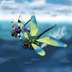 Dragonfly mount skin for Skimmer by ArtisticNaz