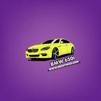 Bmw 650i Gran Coupe vector by messtwice