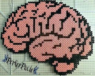 Brains by PerlerPixie