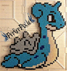 Lapras by PerlerPixie