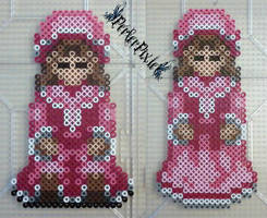 Mad Father - Pink Dolls by PerlerPixie