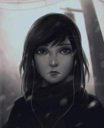 Portrait Warmup 2 by Koyorin