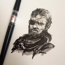 Big Boss Sketch by Koyorin
