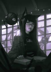 Librarian by Koyorin