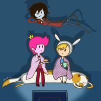 Movie Time~! by Nocris-Art