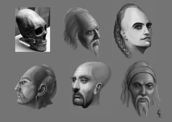 Face-study by LukaTrkanjec