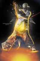 Fire dancer by medo1o0o09