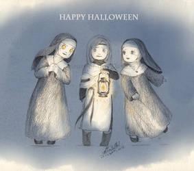 Happy Halloween 2018 by Llttle-Lark