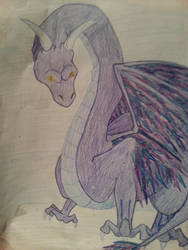 Feathered Dragon by Atlantean-chick