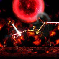 anakin vs sith assassin by EIMJ
