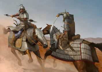 Mongol vs Khwarezmid by EthicallyChallenged