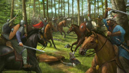 Battle of Lechfeld by EthicallyChallenged