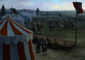 Agincourt mustering by EthicallyChallenged