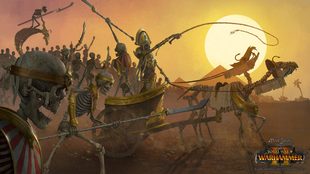 Tomb King Army by EthicallyChallenged
