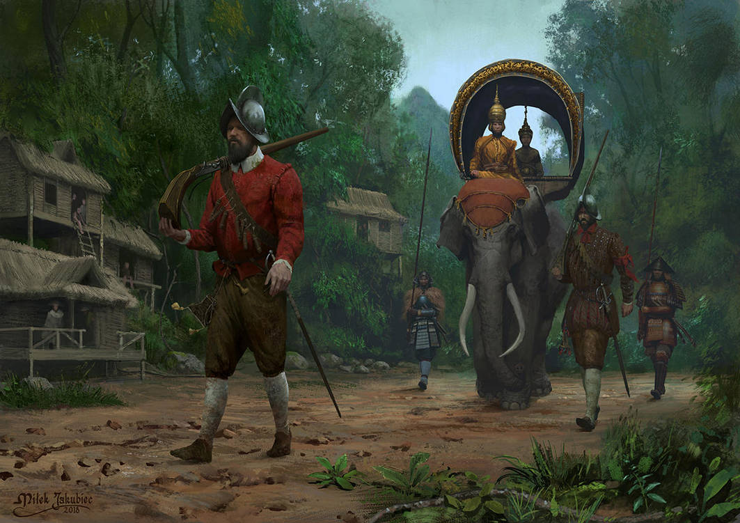 Spanish Tercios in Cambodia by EthicallyChallenged