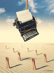 Lost Typewriter 2 by sedatgever