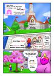 Princess Mario - Page One by FieryJinx